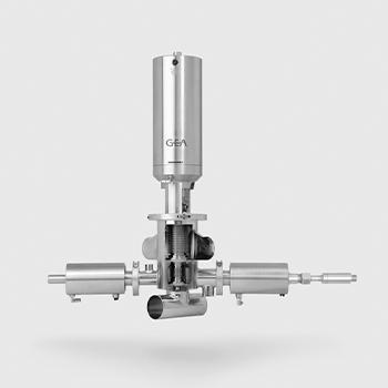 Componentes para procesado aséptico de líquidos