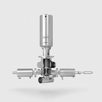 Válvula con doble cámara Aseptomag DK