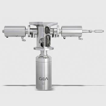 Válvula con doble cámara Aseptomag DKBS.